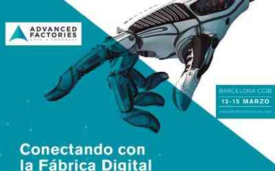 Invitados como ponentes al Advanced Factories 2019