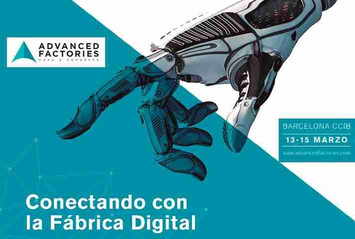 Invitados como ponentes al Advanced Factories 2019
